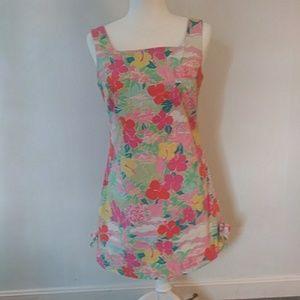 Vintage Lilly Pulitzer sleeveless shift dress